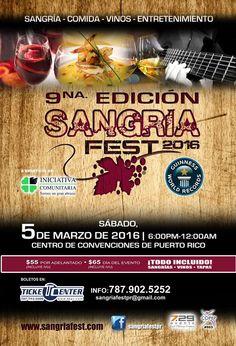 Sangría Fest 2016 #sondeaquipr #sangriafest #centroconvencionespr #sanjuan #gastronomiapr #festivalespr