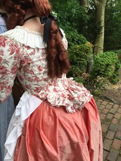 """but providing the base on which to make/drape/mount your """"fashion"""" fabric. It enables you to get started on your gown or jacket really quickly and makes the whole Rococo Fashion, 50 Fashion, Fashion Fabric, Victorian Fashion, Fashion Looks, 17th Century Fashion, 18th Century Dress, 18th Century Costume, Renaissance Dresses"""
