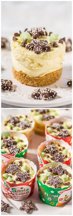 Easy No-Bake Mini Cheesecakes Recipe