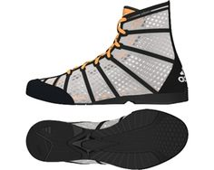adidas adizero Boxing Boot - White/Black/Orange