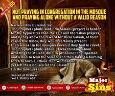 Major Sins in Islam Islamic Prayer, Prophet Muhammad, Know The Truth, Oppression, Quran, Forgiveness, Prayers, Sayings, Mosque