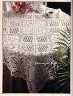 BethSteiner: Toalha de mesa em crochê