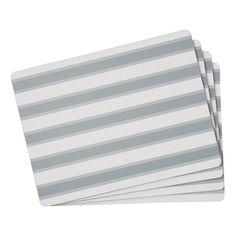 Southsea Stripe Corkback Placemats