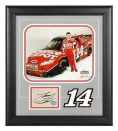 STEWART, TONY FRAMED(09 PRESS SHOT)8x10/AUTO CARD/LASER LOGO - Mounted Memories Certified - Framed NASCAR Photos, Plaques and Collages by Sports Memorabilia. $148.63. With Stewart-Haas ready and set to go to Daytona, here is the perfect framed collectible to celebrate Tony Stewarts new team and new sponsor. This limited edition of 114 features a glossy 8x10 photo of the Office Depot Chevy and new owner-driver Tony Stewart. It comes double matted and framed alongside a hand sig...