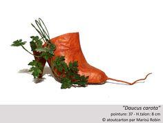 """Daucus carota""  Création exclusive d'atoutcarton par Marisú Robin."