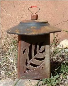 More lantern ideas by Taos Pottery