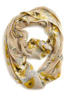 Floral Exam Scarf in Khaki Echarpe, Chaussure, Mode, Foulards, Accessoires  De Mode 5dbfc226aaf