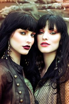well look it who I found on Pinterest! haha! I was just looking for some makeup inspiration. All of you girls are so gorgeous! @Natalee S