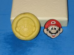 Mario Super Bros Push Mold Food Safe Silicone by LobsterTailMolds