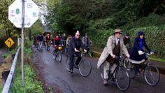 Portland tweed ride