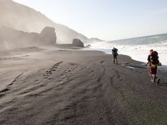 Home to remote beaches, golden hills, steep bluffs, and black bears, this is the story of three friends who discovered unexpected wilderness along California's Lost Coast.