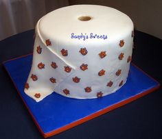 Toilet Paper Cake Celebrate Toomer's Trees Tradition!
