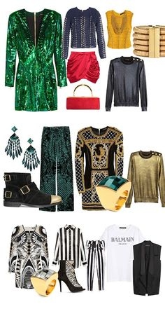 The Fashion Mood Book: Balmain x H&M - As minhas 20 peças favoritas