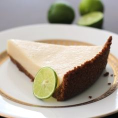 Skinny Key Lime Pie, without the skinny taste! #foodgawker