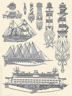 WhaleBoats II by Kyler Martz