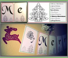 Merry Christmas! Holiday Banner & Decoration.