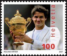 #Swiss #tennis player champion #Roger #Federer 2007