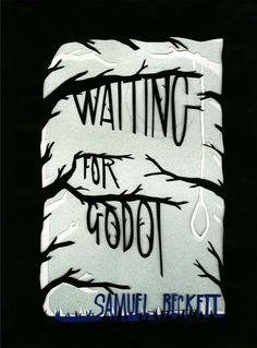 """Waiting for Godot"" by Samuel Beckett   #PosterDesign"