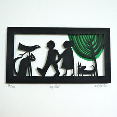 Together papercut