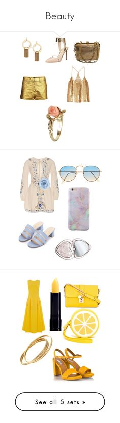 """""""Beauty"""" by pangya ❤ liked on Polyvore featuring beauty, Stephanie Kantis, Nine West, St. John, Chanel, TIBI, Vintage, Monsoon, Too Faced Cosmetics and Warehouse"""