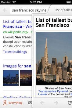 Google Search is na de mei 2012-update gewoon een fijne, strakke browser geworden. ˆBB