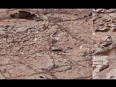 The patch of veined, flat-lying rock selected as the first drilling site for Curiosity.   The area is full of fractures and veins, with the intervening rock also containing concretions - small spherical concentrations of minerals.   A shows a high concentration of ridge-like veins protruding above the surface. B shows that in some portions of this feature, there is a horizontal discontinuity a few centimeters beneath the surface. C shows a hole developed in the sand that overlies a fracture.
