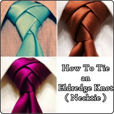 How To Tie an Eldredge Knot Necktie The Homestead Survival - Homesteading - Holiday Clothing Fashion Men Suit
