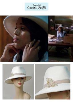 "Scandal Season Finale 222: Olivia Pope's (Kerry Washington) Louise Green ""Danny"" in winter white"