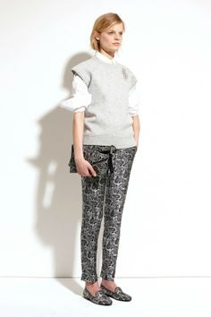 Michael Kors Pre-Fall 2014  Printed trousers are always love