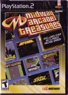 Midway Arcade Treasures  PlayStation 2 >>> You can get more details by clicking on the image.Note:It is affiliate link to Amazon.