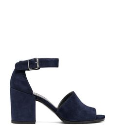 The SOHOGAL Sandal in Blue Suede
