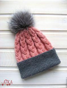 Knitting patterns, knitting designs, knitting for beginners. Baby Hats Knitting, Free Knitting, Knitted Hats, Knitting Patterns, Bonnet Rose, Crochet Baby, Knit Crochet, Knit World, Gris Rose