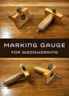 Marking gauge for using in woodworking projects, but it could be useful for other crafts.