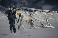 ArtStation - Enslaver [ Villain No.5 ], George Matsikas