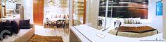Apartamento Decorado de 1 Quarto do Lux Home Design - Goiânia Informações: 62 3922 8800 ou pelo site www.mybrokerimoveis.com.br