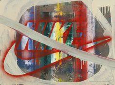 "Roman Minaev ""See more"" art project, 2015, paintings, mixed technics. Generative art. Роман Минаев арт проект ""See more"", 2015, живопись, смешанная техника, картон. Генеративное искусство."