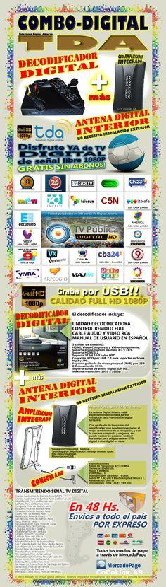 Kit TV Digital en OFERTA