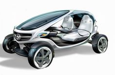 Mercedes-Benz Vision Golf Cart; Mercedes-Benz designt visionäres Golf Cart