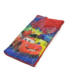 Cars McQueen Sleeping Bag #zulily #zulilyfinds