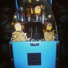 Personalized liqour basket