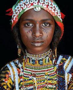 Hausa Fulani girl, Niger.