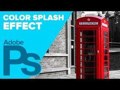 Color Splash Effect in Photoshop CS6 • Photoshop Tips & Tricks by IceflowStudios | Online Graphic Design Tutorials
