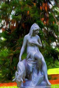 WOMAN AT PEACE. http://www.liveeachadventure.com/our-own-original-digitalart-images/