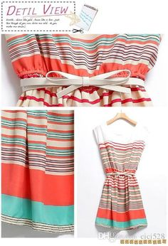 Choosing wholesale 2015 summer tunic dress new fashion colorful stripes orange chiffon mini dress dresses for women casual dresses 695 women summer dress online? DHgate.com sells a variety of work dresses for you. Buy now enjoy cheap price.