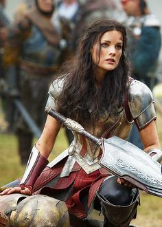 Gotta RESPECT armored women -- Lady Knights, Warriors, and Badasses!  Not only did they have an enemy to fight?  They were rarely accepted by a society that wanted them TAME, dainty & demure.