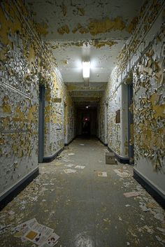 Paint Decay - urban exploring