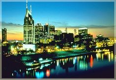 Nashville, my favorite city! Living In Nashville, Visit Nashville, Oh The Places You'll Go, Places To Travel, Places To Visit, Vacation Trips, Dream Vacations, Vacation Spots, Nashville Skyline