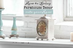 How to Bring Antique Farmhouse Decor into your Stylish Home. See how to transform your home with cottage style decorating and these farm decor ideas. http://stagetecture.com/antique-farmhouse-decor-home-ideas/ #design #decor #interiors #home
