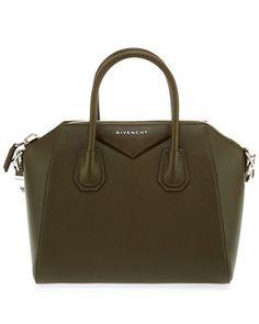 Givenchy Antigona Small Pebbled Leather Satchel