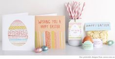 free easter printables from mooo